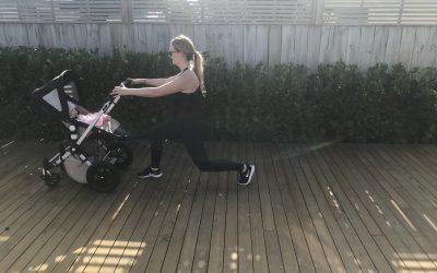 Postpartum exercise…
